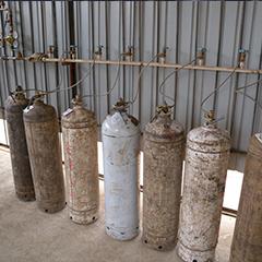 干冰制造使用乙炔液氮